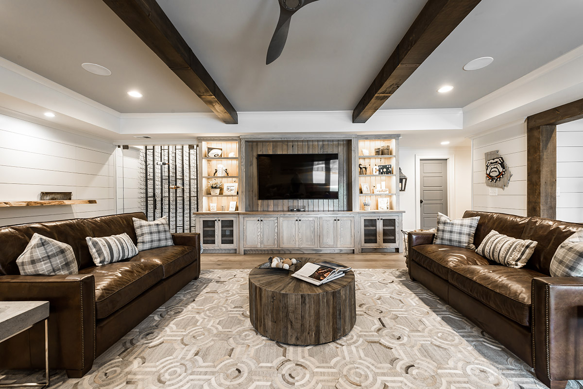 Cavendar Basement | Hart & Lock Design | Residential Interior Design | Atlanta, GA