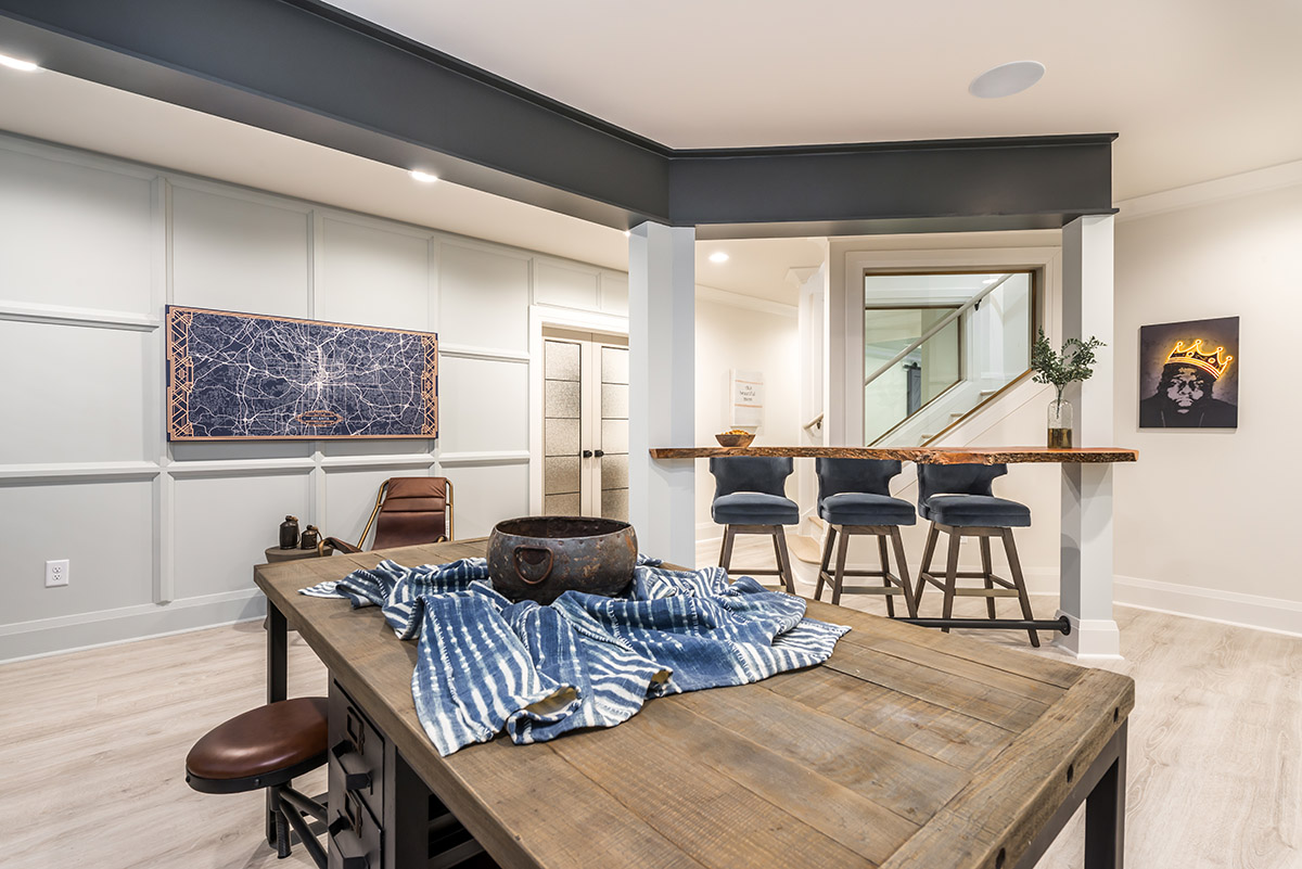 Noble Basement | Hart & Lock Design | Residential Interior Design | Atlanta, GA